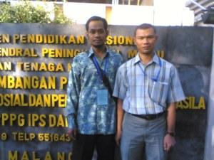Aku (kiri) sama Jamaluddin dari Aceh